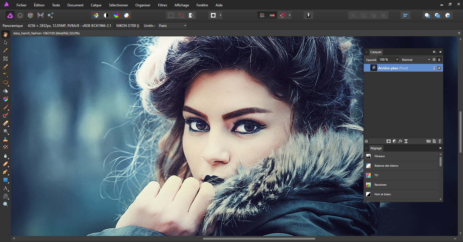 interface affinity photo